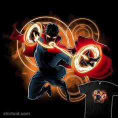 Doctor Strange T-Shirt Marvel TeeTurtle Ms Marvel, Marvel Avengers, Marvel Comics, Mundo Marvel, Marvel Heroes, Marvel Characters, Marvel Doctor Strange, Doc Strange, Strange Art