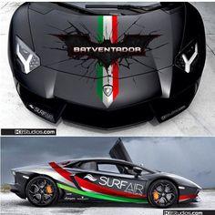 http://chicerman.com  majestix:  The @Batventador looking good! Shout out to @kistudios @kistudios for the design!  #majestic_cars #batventador #kistudios #lamborghini #aventador #carporn  #cars