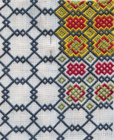 Medieval Arts & Crafts: New! Pattern #21 in progress. Great site