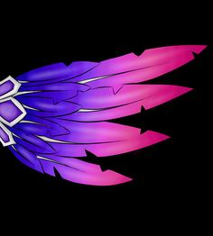 Xayah's wing. by DivergentCreator