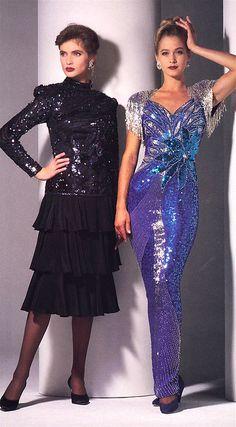 80s Womens Fashion, Tall Women Fashion, Iranian Women Fashion, 80s And 90s Fashion, 1980s Trends, 1980s Fashion Trends, 20th Century Fashion, Retro Dress, Women's Fashion Dresses