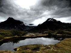 Great Walk, New Zealand: Routeburn Track - view from Key Summit