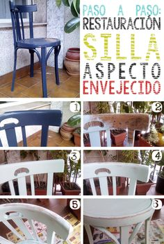 Cómo restaurar silla con aspecto envejecido | Hacer bricolaje es facilisimo.com