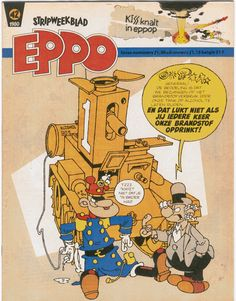 EPPO cover door Peter de Smet (RIP), 1980