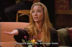 She proves that you can balance being selfless and selfish without sacrificing one for the other. | 22 Reasons Why Phoebe Buffay Should Be Your Role Model