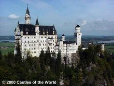 Neuschwanstein.  One castles we toured while living in Germany. Beautiful.