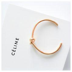 Bracelet Knot Gold Celine
