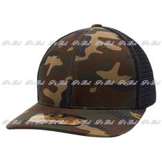 Shop for Wholesale Trucker Hats Wholesale: Green Camouflage and Black Pit Bull Cambridge Mesh Stretch Trucker Cap Hat Flex. Easy Custom Embroidery and Wholesale Bulk Order. Black Pit, Custom Embroidery, Dad Hats, Mesh Fabric, Cambridge, Camouflage, Wool Blend, Stretches, Pitbulls