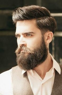 Ducktail beard is a