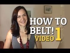 How To Belt - If You\'re Not A Natural Belter nya nasal, gaga back throat