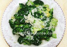 Broccoli with Garlic -- suàn róng xī lán huā