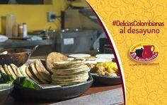 Las arepas de #ElRancherito, una gran representación de las #DeliciasColombianas