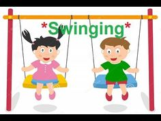Swinging : Poem for Kids in English