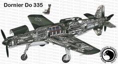 Dornier Do 335 | Car Interior Design