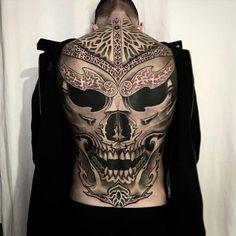 Jondix's eastern ornamentalism, – Octopus Tattoo Full Back Tattoos, Back Tattoos For Guys, Cool Arm Tattoos, Full Body Tattoo, Skull Tattoos, Tattoos For Women, Tattoo On Back, Dragon Tattoos, Octopus Tattoo Sleeve