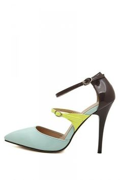 http://www.bonanza.com/listings/Free-Shipping-Light-Blue-Faux-Pu-Pointed-Toe-Buckle-Strap-Heels-w/247781065