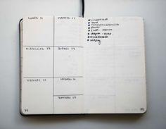 planner, bullet journal