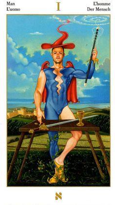 The Magician - Contemplative Tarot by Adriano Buldrini Tarot Decks, The Magician Tarot, Dylan Dog, Tarot Prediction, The Hanged Man, Online Tarot, Tarot Major Arcana, Circle Of Life, Tarot Cards