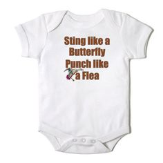 Sting+Like+a+Butterfly+Punch+Like+a+Flea+Duck+by+CasualTeeCo,+$14.00