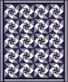 Spinkys - Page 2  GO TO SITE FOR DIRECTIONS AND SUPPLIES LIST.  TUTORIAL 3 COLOR QUILT  08/16/15  JS