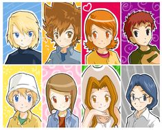 Digimon Adventure 01 Digidestined...in 02