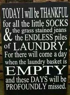 I've been looking for something for my laundry room! This is perfect!