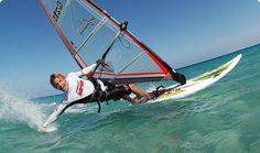 Windsurfen macht Spaß!