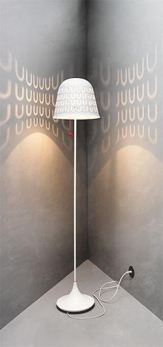 Geef je muur een patroon met deze IKEA 2014 PS vloerlamp. #IKEAPS2014