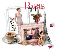 """Be my LOVE in PARIS"" by danceofthesoul ❤ liked on Polyvore featuring art"