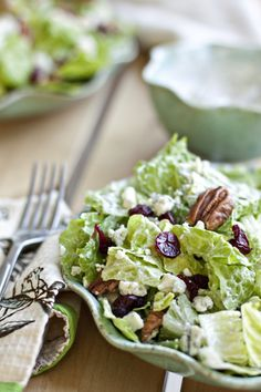 Cranberry Pecan Salad with Poppy Seed Dressing