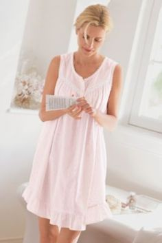 Nantucket Gown - Sleepwear, Intimate Apparel, Misses' Clothing, Apparel | Soft Surroundings