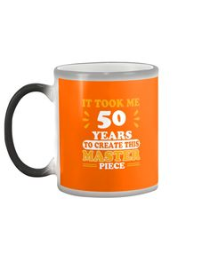 50th Birthday Tee Cool For 50 Years Old T-Mugs - Burnt Orange birthday wishes for him, birthday cakepops, emoji birthday party #birthdaycakes #birthdayparties #birthdaytrip, dried orange slices, yule decorations, scandinavian christmas Birthday Wishes For Him, 1st Birthday Party For Girls, Birthday Quotes For Daughter, Birthday Quotes For Best Friend, Fabulous Birthday, 50th Birthday, Birthday Souvenir, Crazy Aunt, 50 Years Old