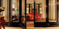 The 15 most expensive hotels in the world - Matador Network -  The Royal Suite at the Hôtel Plaza Athénée in Paris.