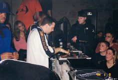 :::code313::: party TOUGHGUY at eastowne theatre detroit, mi february 19, 2000  dj godfather spinnin