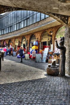 Stables Market in Camden London, England.. adventurous alternative fashion #alternativefashion #camdentown