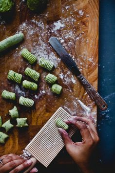 Arugula Gnocchi | Playful Cooking