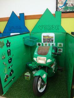 """Projeto """" O Mundo das cores""""- o verde"""