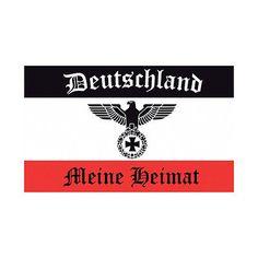 Fahne Flagge Deutsches Reich - Meine Heimat Reichsadler - 150 x 250 cm XXL in Garten & Terrasse, Dekoration, Fahnen   eBay