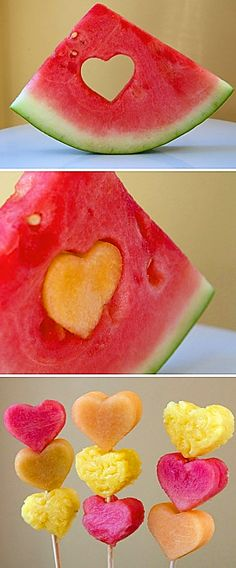 "An inexpensive way to transform fruit into something amazing! ""LOVE"" and ""FREE"" are both 4-letter words!"