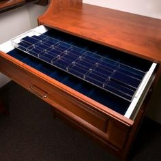 double jewelry drawer insert is a nice way to keep things safe and in-order