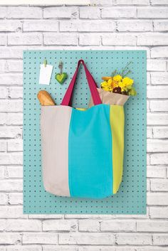 Cool Colourblock Tote Kit - Top 20 Gifts for Sewists - Sewing