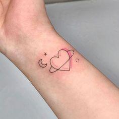 Bff Tattoos, Mini Tattoos, 4 Tattoo, Dainty Tattoos, Little Tattoos, Pretty Tattoos, Piercing Tattoo, Future Tattoos, Love Tattoos