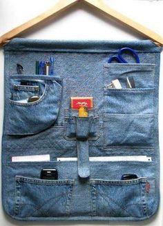Reaproveitando o jeans usado