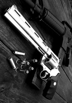 Classic Colt ribs, extended barrel, and likely a .44 mag.