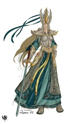 f High Elf Wizard