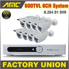 259.99$  Watch now - http://ai1ta.worlditems.win/all/product.php?id=1372776010 - 8pcs CCTV DVR System Full D1 8ch 600TVL CCTV Security System DVR Camera CCTV Kit 8 Channel Video Surveillance System