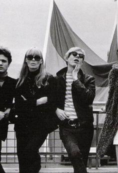 Gerard Malanga, Andy Warhol & Nico
