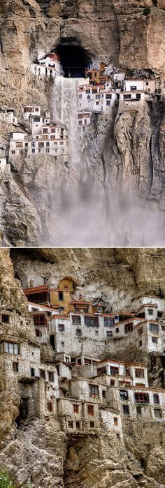 Phugtal Monastery in India! (this gem is one of the world's most visited places by tourists)