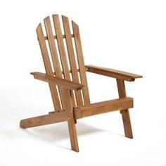 Fauteuil de jardin style Adirondack, 3 positions gamme Zeda La Redoute Interieurs - Mobilier de Jardin