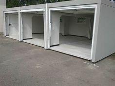 Betonnen prefab garages